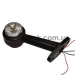 Габарит заноса прицепа LED прямой 16 см (AN-SEL)