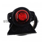 Фонарь габаритный - декоративный LED красный (NOKTA), L0130R, 017-0167