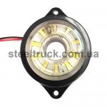 Фонарь габаритный LED, белый, бегущий диод (NOKTA)
