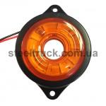 Фонарь габаритный LED, желтый, бегущий диод (NOKTA)