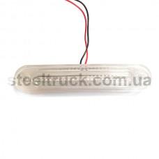 Фонарь декор LED белый 12 см (NOKTA), L0300W, 017-0186