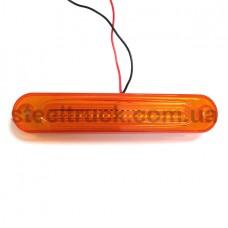 Фонарь декор LED желтый 12 см (NOKTA), L0300Y, 017-0188