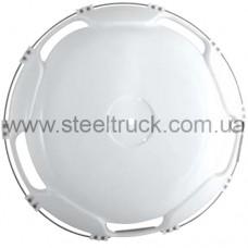 Колпак колеса 22,5 (пластик) БЕЛЫЙ задний, CJ102204, 026-0091