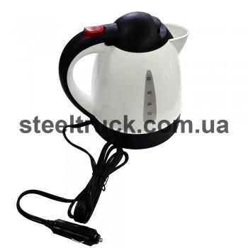 Чайник автомобильный 12V, 1.0L , 001-0060, 001-0060