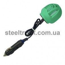 Фумигатор автомобильный 12V(на проводе, жидкость и таблетка), 40036, 001-0046