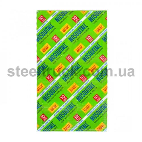 Пластина для фумигатора 10 штук, MOSQUITALL, 001-0118