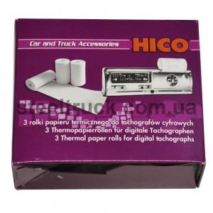 Лента термо для цифрового тахографа (3 шт.) HIKO, wkr009, 008-0037