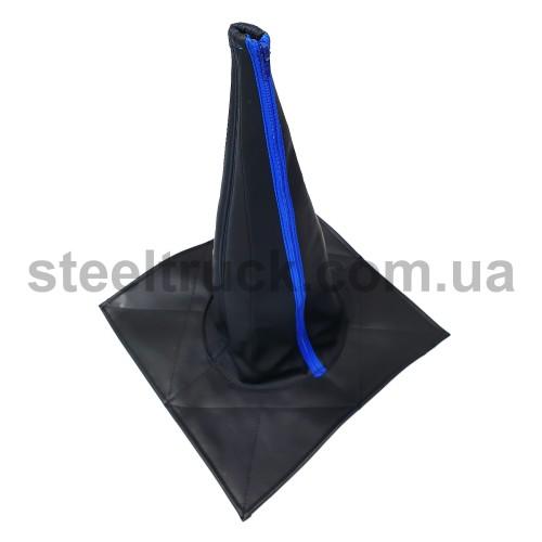 Чехол КПП эко-кожа универсальный 43 см, 125-0011