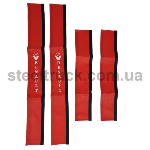 Чехол поручня RENAULT красный, 125-0120