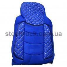 Чехол на сиденье MAN TGA, 430-460-480 синий (PREMIUM), 99TGAB, 076-0009