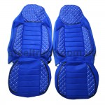 Чехол на сиденье MAN TGX, синий (PREMIUM)