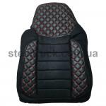 Чехол на сиденье MAN TGX, черный (PREMIUM)