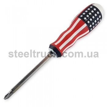 """Отвертка двухсторонняя """"америка"""", 025-0040"""