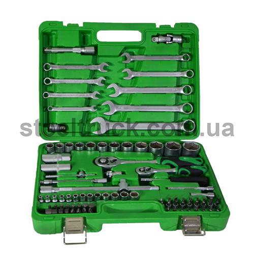 Профессиональный набор инструментов 1/2-1/4 82 единицы, ЕТ-6082SP, 025-0115