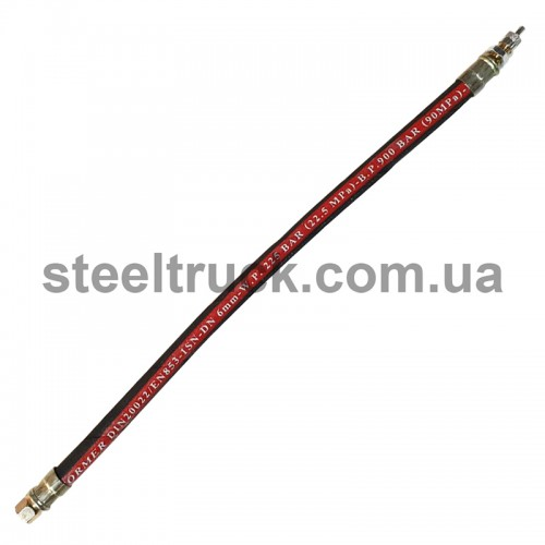Удлинитель подкачки колеса резиновый 35 см, 059-0428