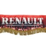 Шторка комплект RENAULT, красная