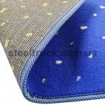 Коврик салона мягкий DAF XF 95 (водитель+пассажир+средина), синий, 4281121603, 009-0513