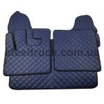 Коврик ЭКО-кожа DAF XF 105 автомат, синий, 55993885, 009-0534