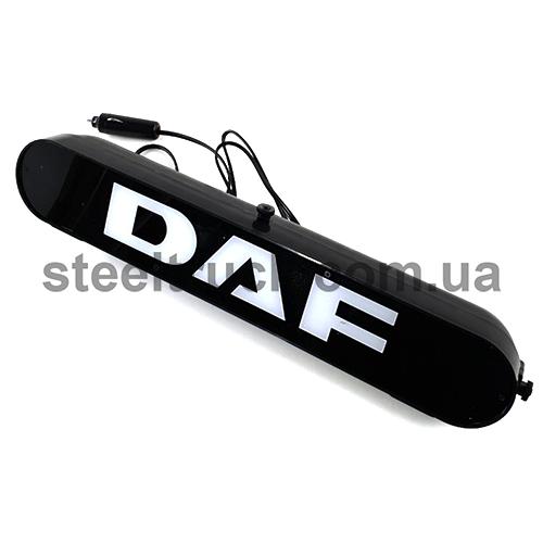 Табличка диодная DAF, белая, 002-0098, 002-0098