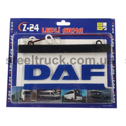 Табличка диодная DAF квадрат, ITBLADF, 002-0117