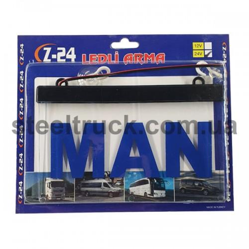 Табличка диодная MAN квадрат, ITBLAMN, 002-0118
