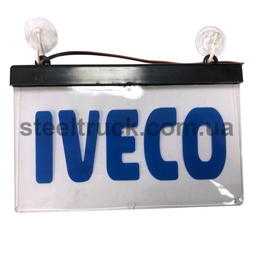 Табличка диодная IVECO квадрат, ITBLAIV, 002-0137