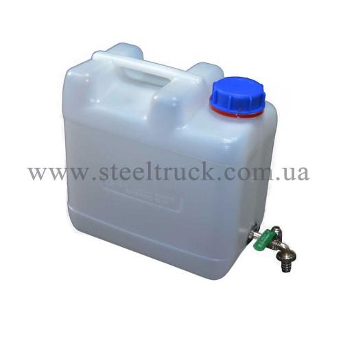 Бак-рукомойник пластиковый 10 литров, 98888710, 010-0007
