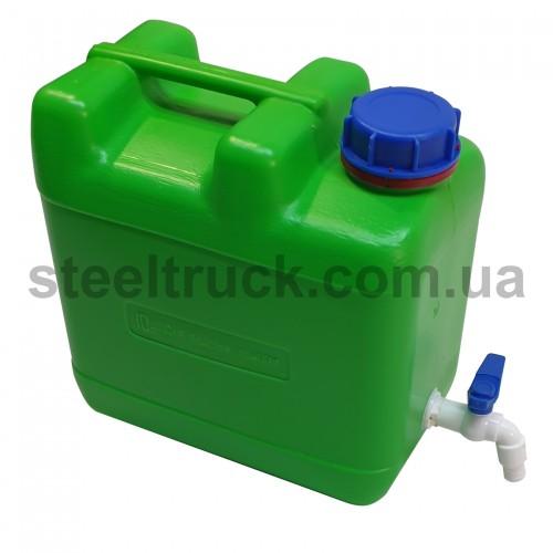Рукомойник пластиковый 10 литров, пластиковый кран (ST), 010-0045