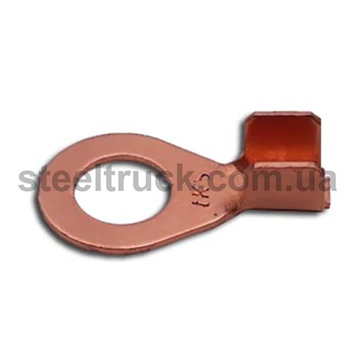 Клемма круглая на пермычки аккумулятора ВА 10 диаметр 10,50 мм, М-065, 048-0052