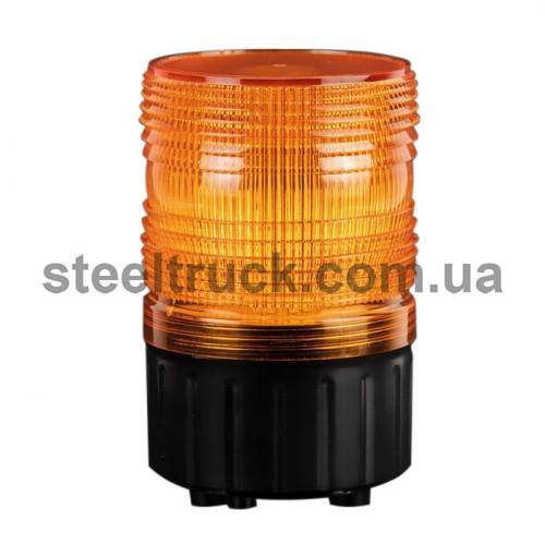 Маячок проблесковый с линзой Френеля 12-24 V (LED), BAD602, 045-0023