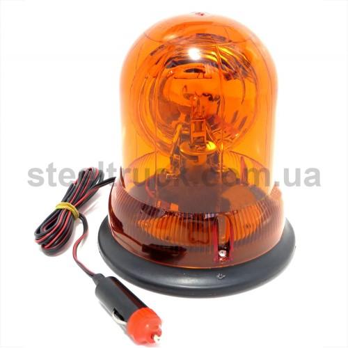 Маячок на лампочке 12V, с магнитным креплением, 045-0024