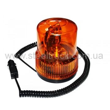 Маячок оранжевый на лампочке 24V с магнитным креплением, TR-502-3, TR-502-3, 045-0006