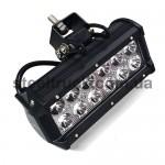 Фара универсальная диодная LED  (12 диодов 42W) 150*80 mm