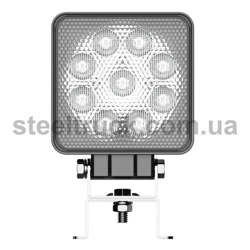 Фара дополнительная LED  (13,5W, 9-36В, 9 диодов), квадрат, FRZ6054, 052-0155