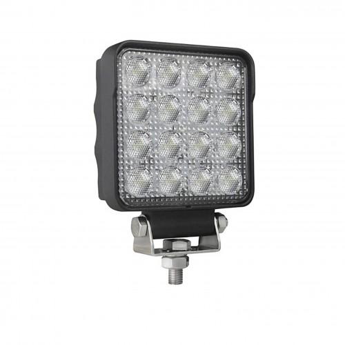 Фара дополнительная LED (48 ватт 16 диод), квадрат, FRZ6021F, 052-0149