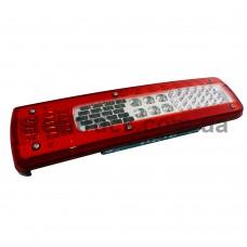 """Фонарь задний VOLVO FH 4-FM 4 LED с разъемом """"AMP"""", левый (ISS), L1038LS, 82849923, M611664, 019-0040"""