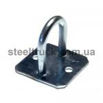 Скоба тента металлическая стоячая 26xH=30mm (круглый верх квадратная площадка), 18-04-00-0550 , 051-0117