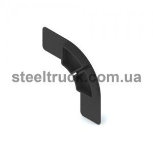 Заглушка алюминиевого профиля (пластик), 153-02-11-009, 051-0242
