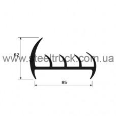 Профиль резиновый 85 мм., 101.04.006, 051-0363