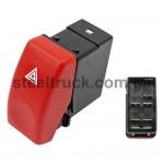 Кнопка аварийной сигнализации DAF XF-CF, 5.80206, 1339016, D0793007, 028-0056
