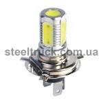 Лампочка 5 LED - COB H4-P43-P45T - 24V, 043-0111