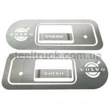 Накладка ручки двери VOLVO (нержавеющая сталь), 081-0012