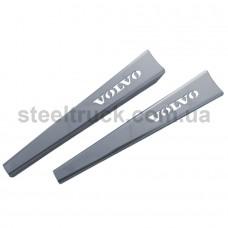 Накладки на дворники VOLVO (нержавеющая сталь), 081-0007
