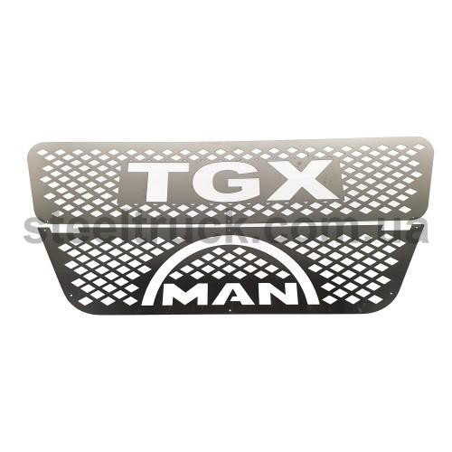 Накладка на бампер MAN TGX, MAN07, 081-0018