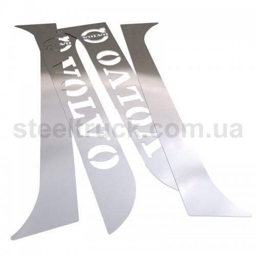 Накладка на кабину спальник - дверь VOLVO, VOL06, 081-0019