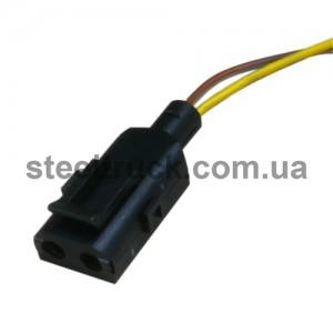 Клемма к патрончику указателя поворотов 2-pin VOLVO, 12-10-00-002, DT 2.27210, 048-0040