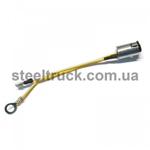 Патрончик одноконтактный металлический (короткий), 048-0047