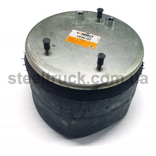 Пневморессора HD 836-02, без стакана, CON1836-02, 050-0018