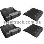 Ремкомплект опоры седла седельно-сцепного устройства (без болтов), SK2105-25, SK1259, BGS284, 073-0006