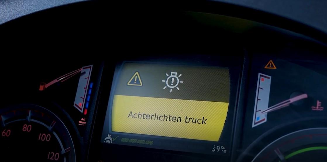 Видео-инструкция по замене лампочек задних фонарей DAF XF Euro 6